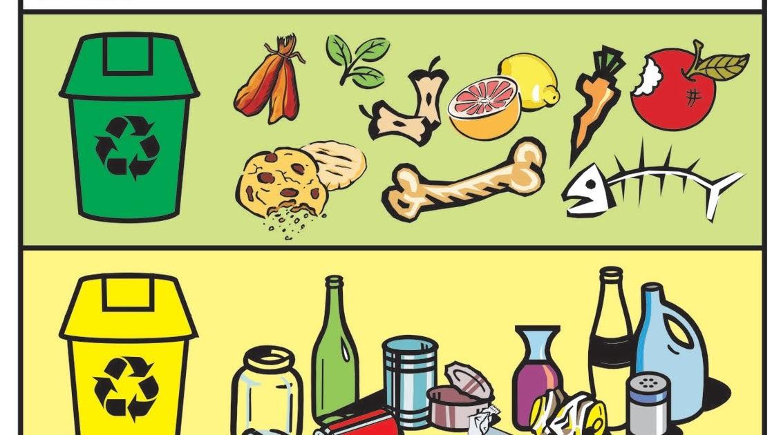 Gambar sampah organik dan anorganik