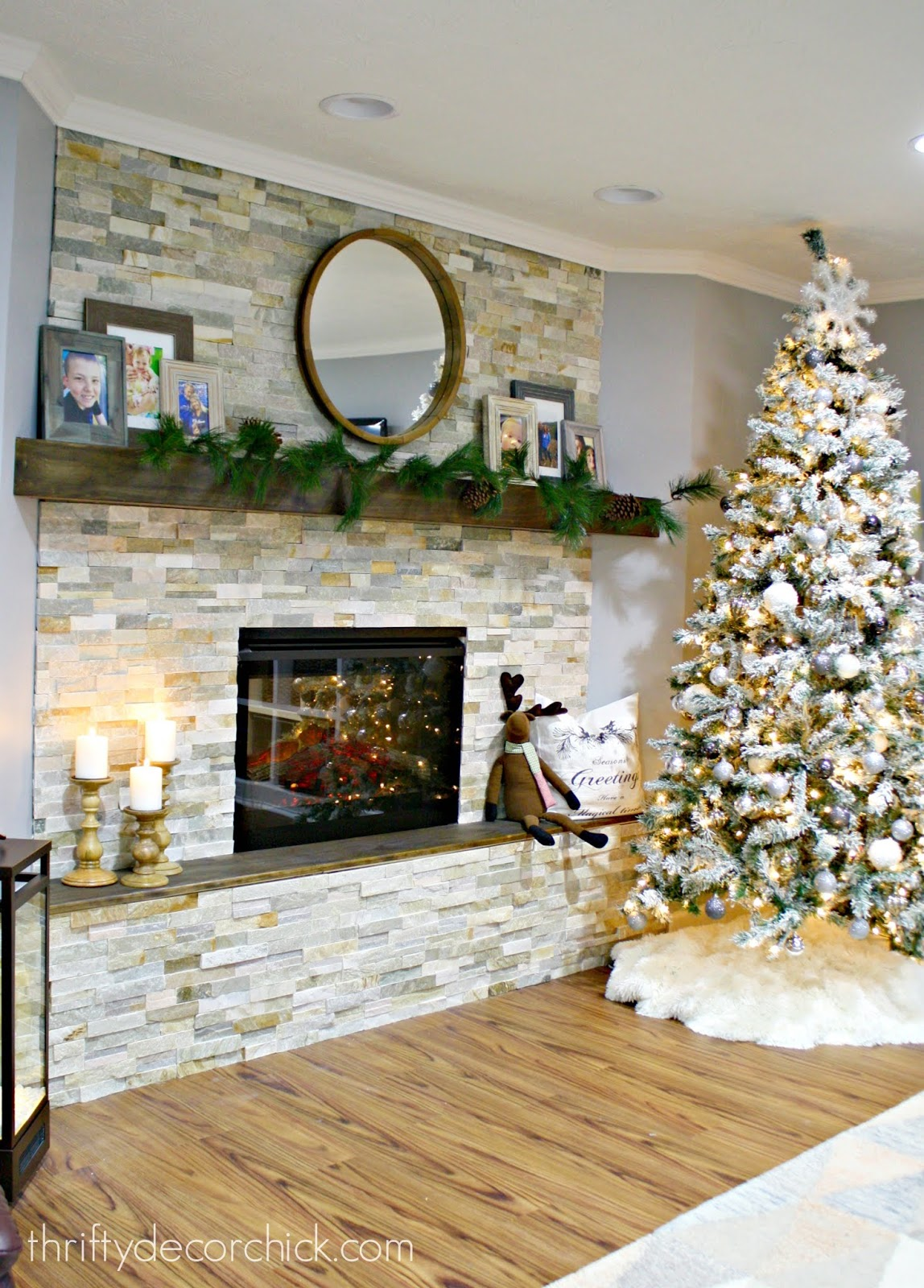 How to install stacked stone tile
