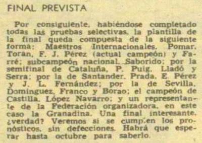 Recorte de la Revista Destino, nº 1245, del 17 de junio de 1961