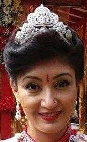 diamond tiara nepal crown princess himani rajya lakshmi devi shah singh