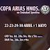 HORARIOS COPA ARIAS HNOS EN SOCIEDAD SPORTIVA: SABADO 22 Y DOMINGO 23