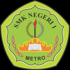 Logo SMKN 1 Metro