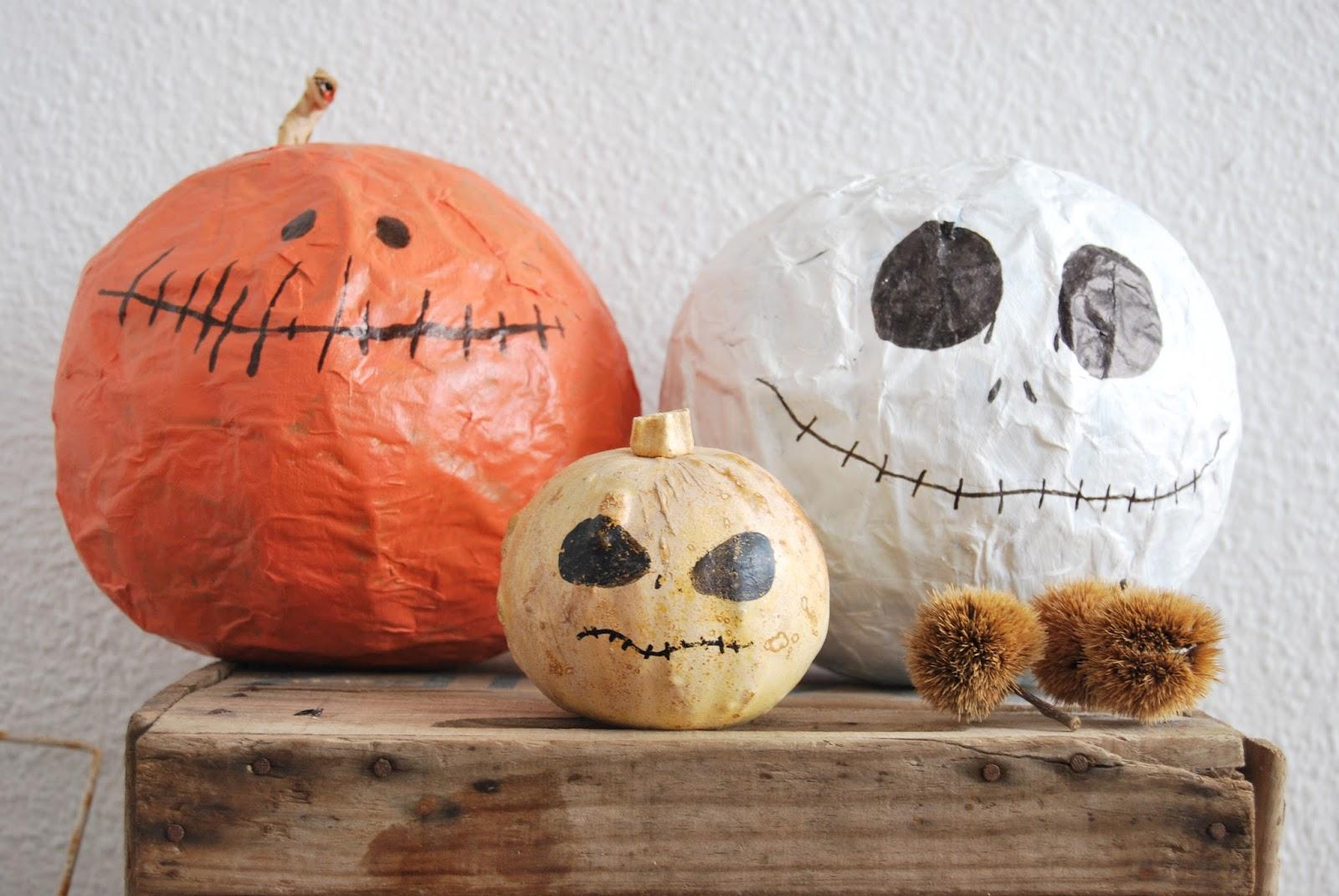 Calabaza Facil Para Hacer Con Ninos Este Halloween Handbox Craft - Calabaza-de-papel