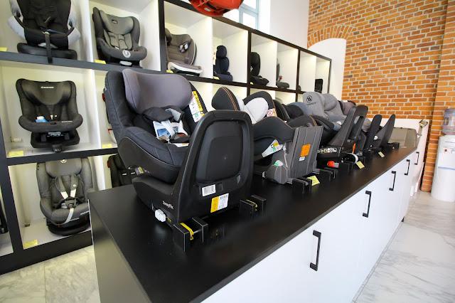 Samochodowe foteliki w Olsztynie