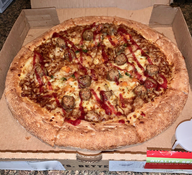 Festive Turkey Dinner Pizza (Papa Johns)