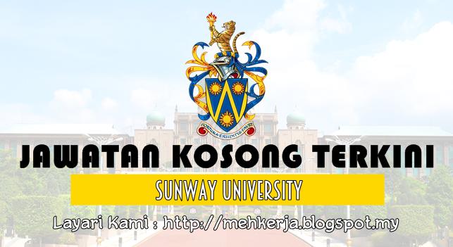 Jawatan Kosong Terkini 2016 di Sunway University