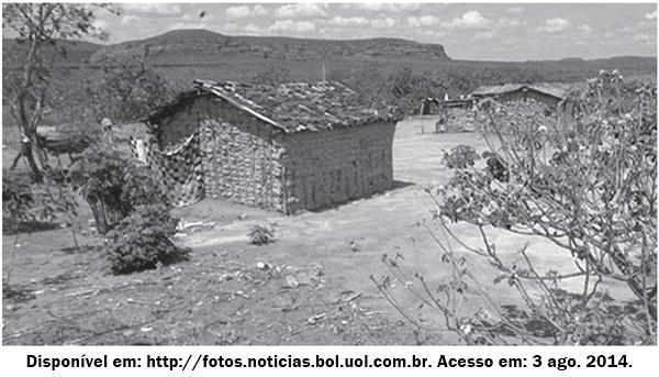 Que fator econômico-ambiental, relacionado à construção de moradias, é representado nas imagens