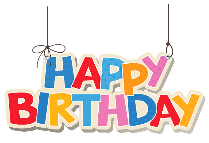Happy Birthday logo free png by pngkh.com