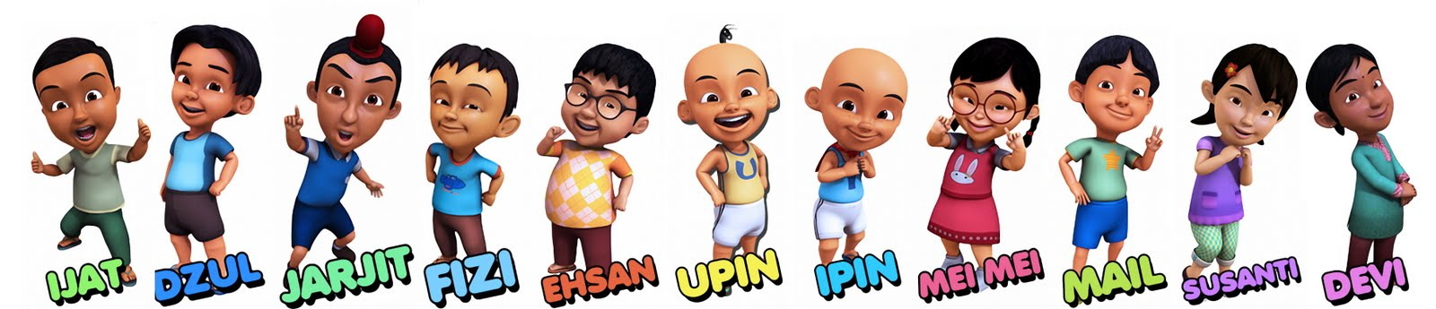 Foto Dan Video Upin-Ipin