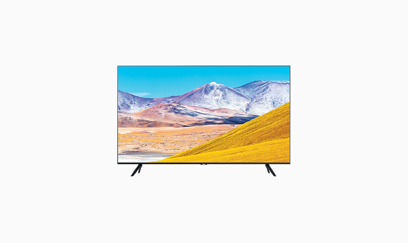 Samsung 43 Crystal UHD 4K Smart TV TU8000