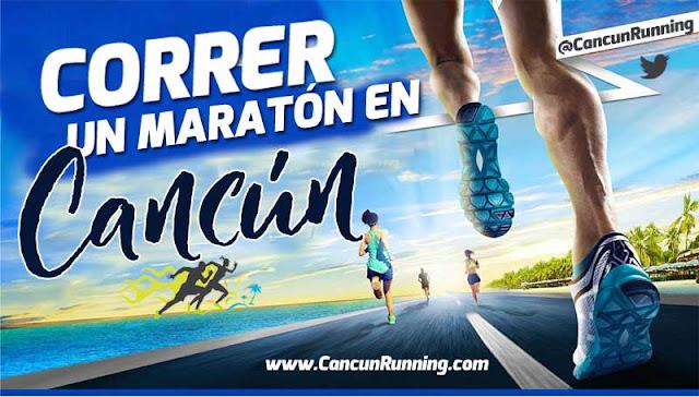 cancun maratron correr