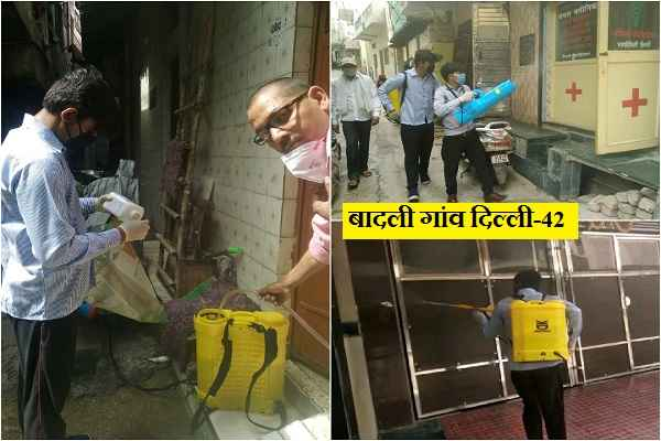 badli-gaon-delhi-42-sanitization-work-by-metro-city-pest-control-news