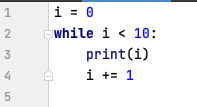 While loop in Python