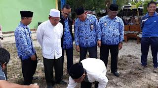 Peletakan Batu Pertama Pembangunan Masjid Daarul Muqoomah SMP Negeri 10 Tarakan - Tarakan Info