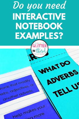 pin of interactive notebook templates examples