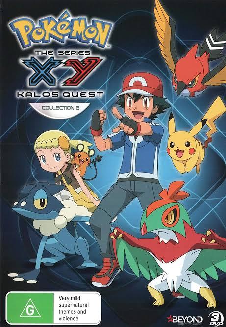 Pokemon Season 18 The Series XY Kalos Quest Images in 720P