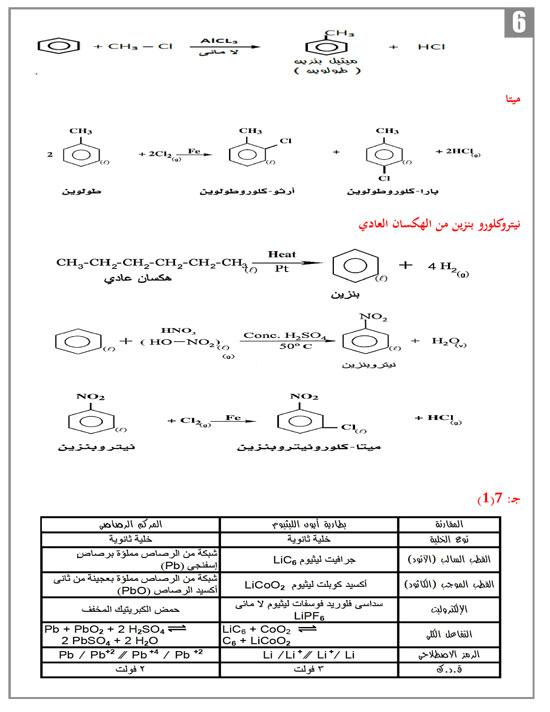 """المراجعة النهائية والحلول النموذجية لنماذج البوكليت """"1 ، 2 ، 3 ، 4  """" لمادة الكيمياء للثانوية العامة 2017"""