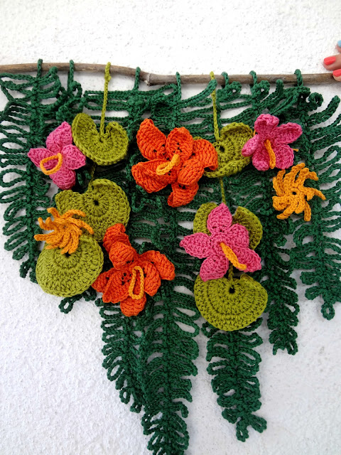 Tropical Wall Hanging