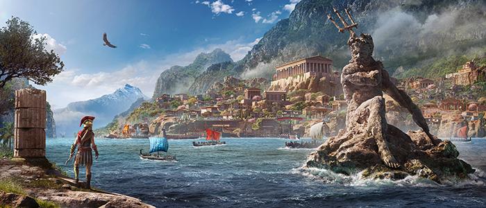 Assassin's Creed Odyssey Poseidon Wallpaper Engine