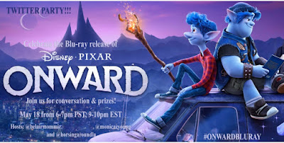 Disney Pixar Onward Movie Twitter Party