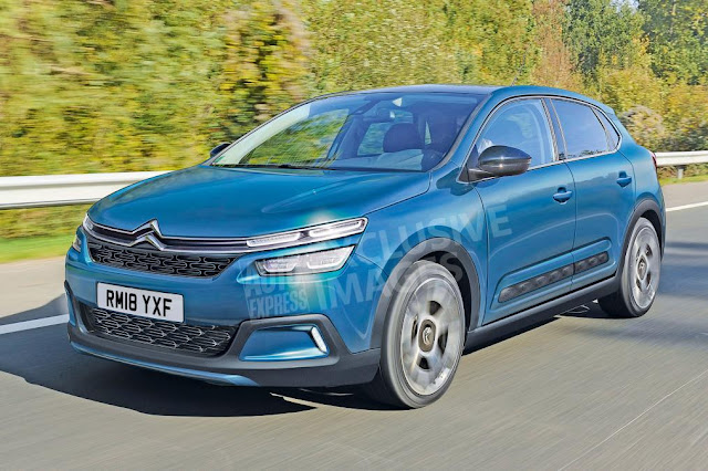 All New Citroen C4 gets sharp look for 2018