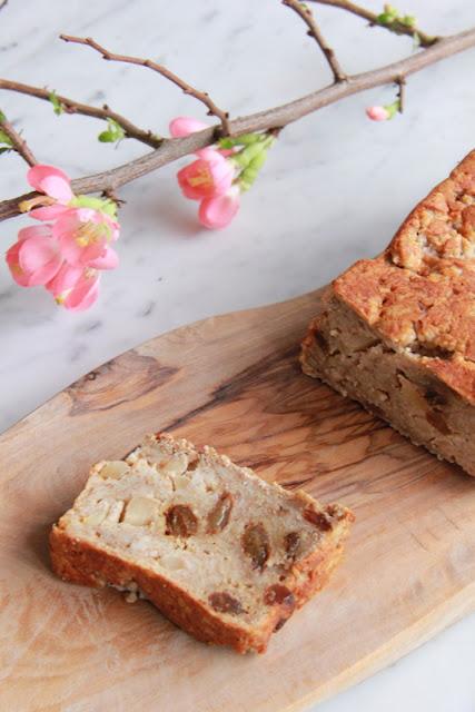 Havermout-appelcake met Skyr - www.desmaakvancecile.com