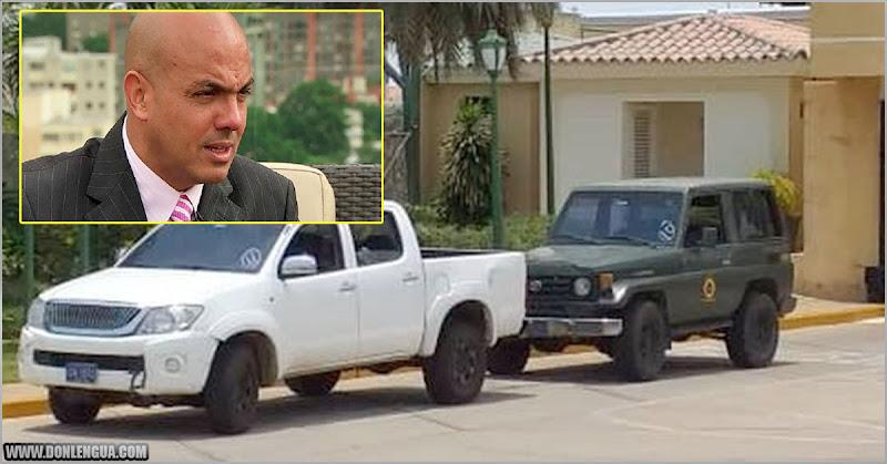 Allanaron la casa de Cliver Alcalá en Maracaibo buscando armas y planos