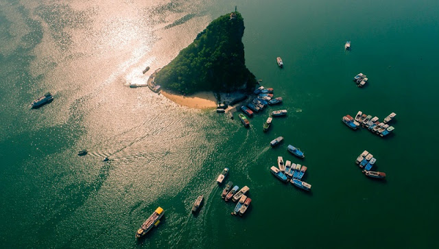 Ha Long Bay, Cat Ba - Nature Masterpiece Seen From The Sky 10