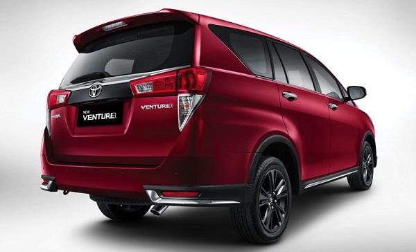 Kelebihan Desain Toyota New Venturer Mobil MPV Keluarga