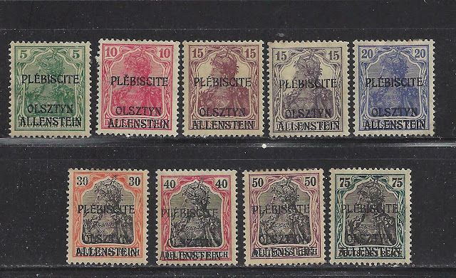 East Prussian plebiscite Allenstein