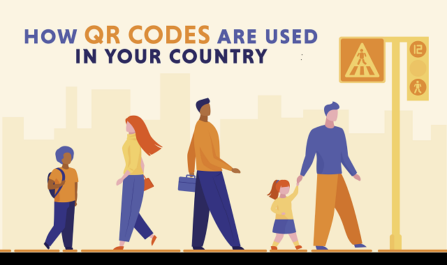Countries using QR codes in different ways