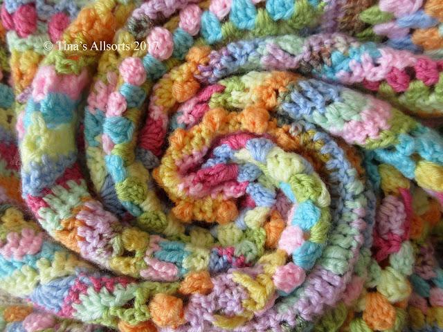 Tina's Allsorts, Tooty Stripey Blanket