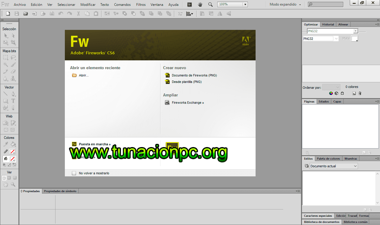 Adobe Fireworks CS6 Multilenguaje Full