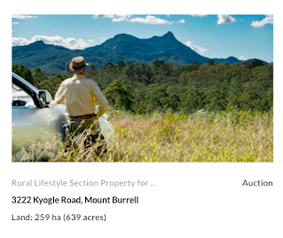 Auction 3222 Kyogle Rd