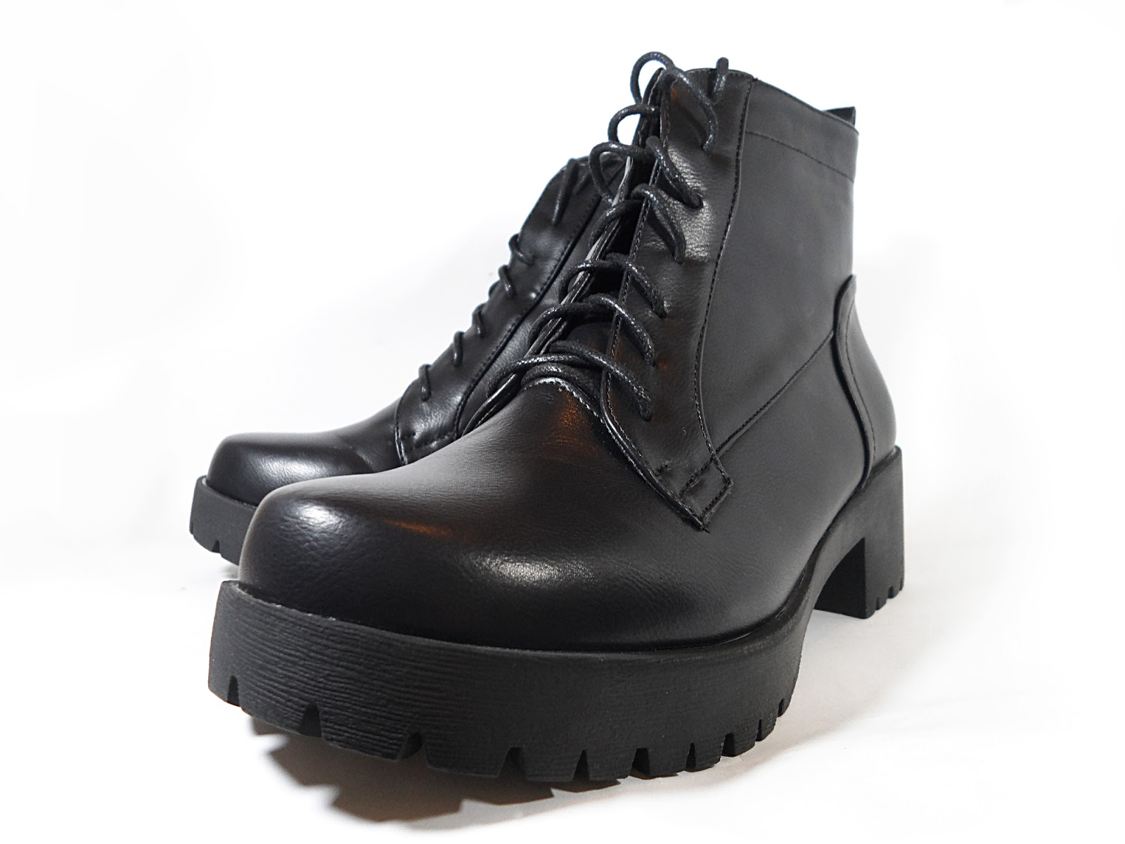Zaful Cobra Combat Ankle Boots Review ♥ Black Friday Giveaway ...