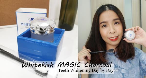 Whitekish MAGIC Charcoal | Teeth Whitening Day by Day