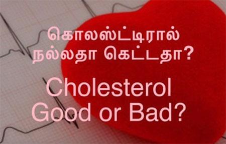 Cholesterol – Good or Bad? (Tamil)