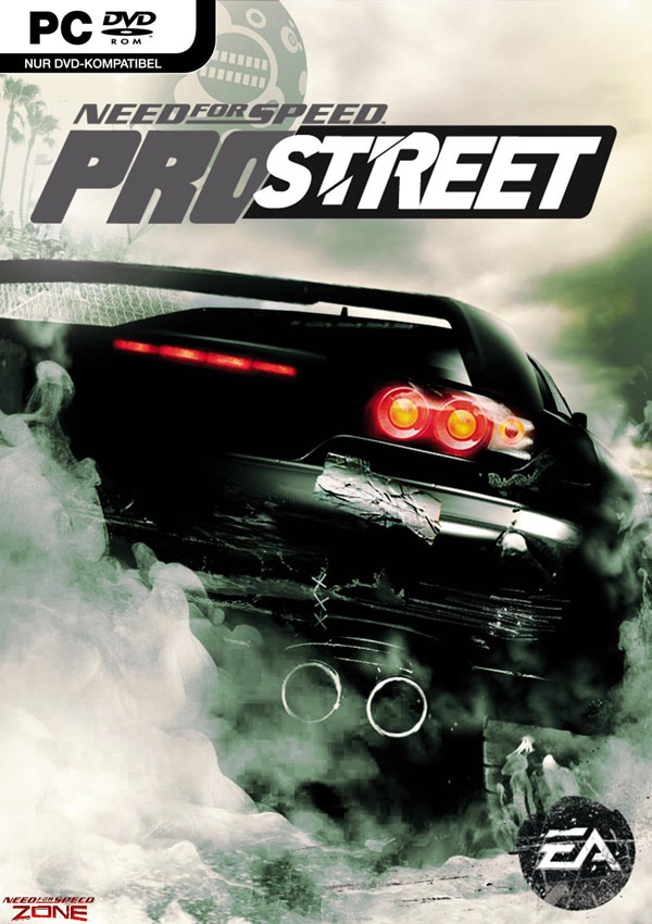 Need For Speed Pro Street Download Cover Free Game