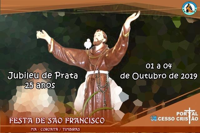 Festejo de São Francisco 2019 em Coroatá, participe!