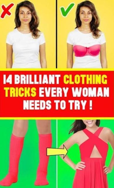 Brilliant Clothing Hacks For Your Worse Clothing Scenarios !