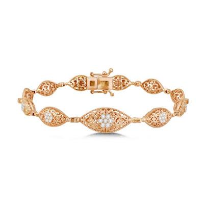 Model Gelang Berlian dari Masa ke Masa