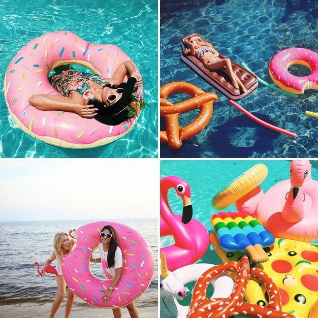 Ideias de fotos com boia na piscina carolina sales for Fotos tumblr piscina