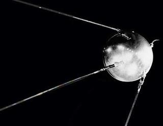Una ricostruzione dello Sputnik.