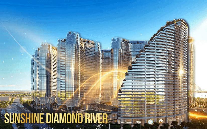vị trí căn hộ Sunshine Diamond River