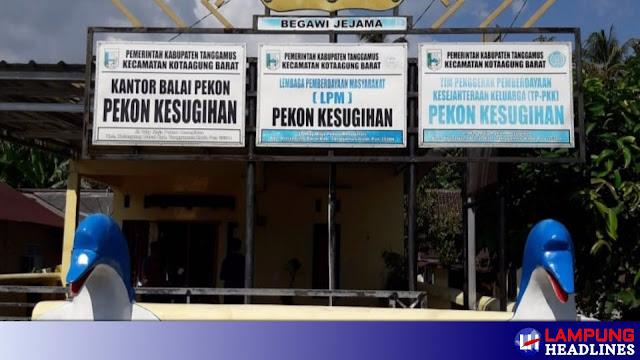 PJ Kakon Hilang Bersama Dana Insentif Dan Tunjangan, Aparat Pekon Kesugihan Buat Surat Pernyataan 3 bulan Tak Gajian, Banyak Masalahnya