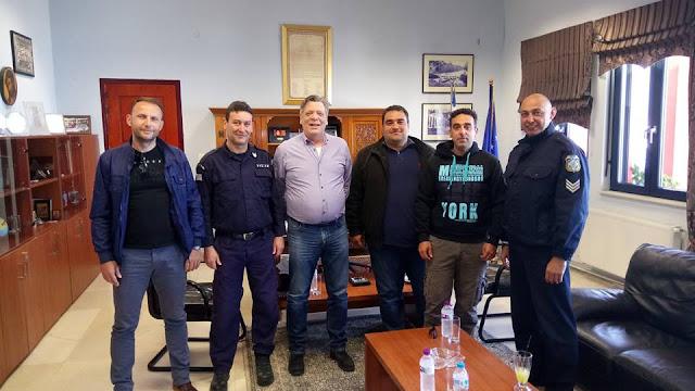 Συνάντηση της Ένωσης Αστυνομικών Υπαλλήλων Θεσπρωτίας με τον Αντιπεριφερειάρχη Θεσπρωτίας κ. Θωμά Πιτούλη