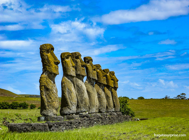 Moai: as estátuas de pedra da Ilha de Páscoa