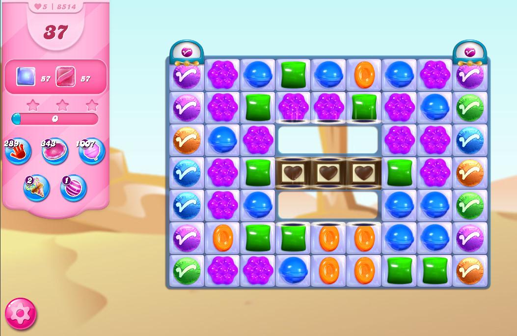 Candy Crush Saga level 8514