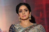 Sri Devi in designer saree stunning beauty at the launch of MOM movie Trailer~  Exclusive 057.JPG