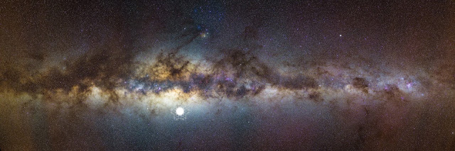 Outback telescope captures Milky Way centre, discovers remnants of dead stars